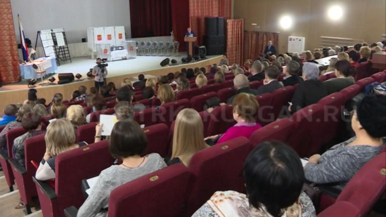 61 избирательный участок в Кургане на предстоящих выборах Президента России будет оснащен электронными устройствами для подсчета голосов избирателей