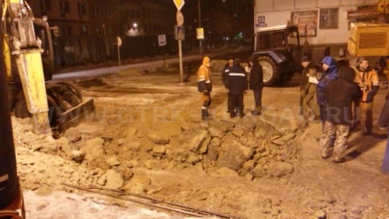 ВКургане из-за трагедии затопило несколько улиц вцентре города